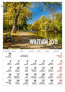 kalendarz z fotografią na wrzesień 2013 roku